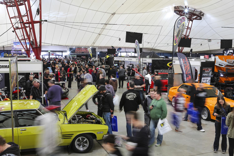 MotorEx Melbourne Showgrounds - Pavilions car show